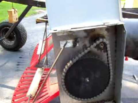 Home Made power Rake