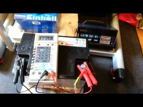 Charging car battery at home