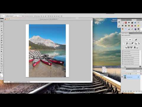 How to Mirror the Edges of an Image for a Canvas Gallerie Wrap