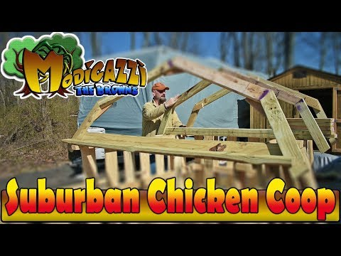 """Breaking the """"On the Grid"""" Chains. Pallet Chicken Coop, Meat Rabbits, Raised Bed Gardening"""