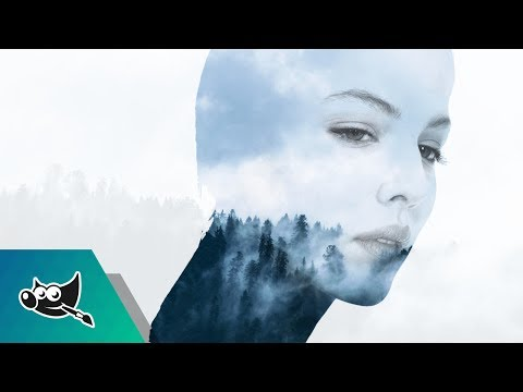 GIMP Tutorial: Double Exposure Effect
