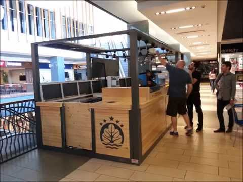 Modular Mall Kiosk Bombty by Mert Reklam Sanayi