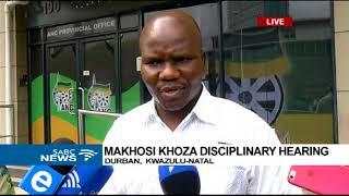 Makhosi Khoza, no show at disciplinary hearing in Durban
