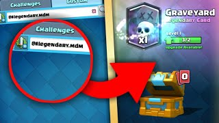 OMG! SECRET CODE TO GET FREE LEGENDARY CARDS IN CLASH ROYALE!! NEW CODE FOR LEGENDARY! DOES IT WORK?