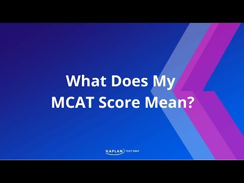 Path to Med School: Evaluating MCAT Scores