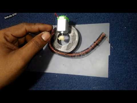 Latest Free Energy Electricity using Magnets, Copper Wire with Motor - solar energy