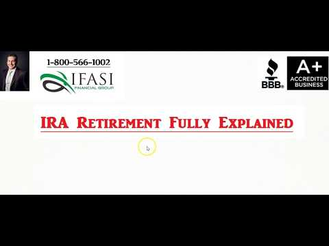 IRA Retirement - What is an IRA Retirement