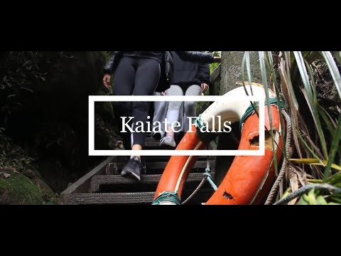 ADVENTURING KAIATE FALLS | NEW ZEALAND