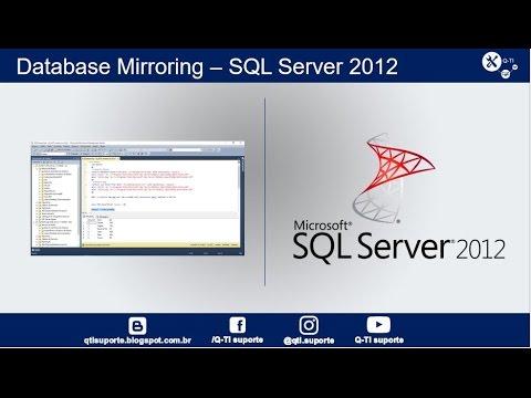 Database Mirroring - SQL Server 2012