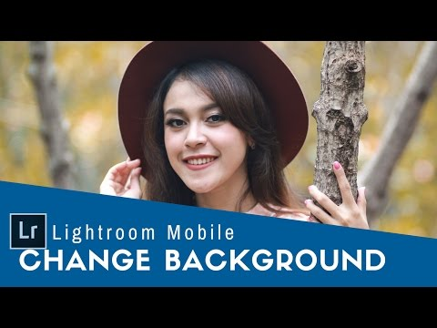How To Change Background Color  Lightroom Mobile