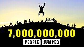 What If 7,000,000,000 People Jumped At Once?