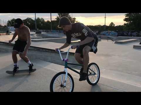The pyramid strikes back! - Riding at york skate park