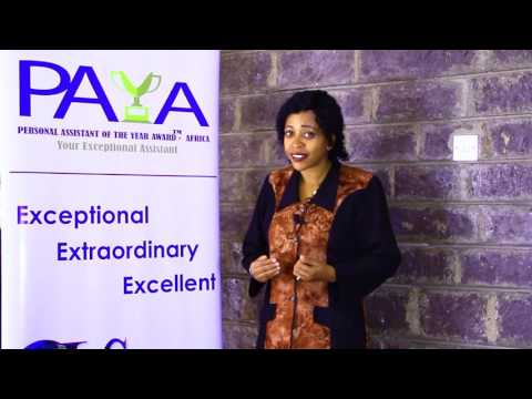 P A Y A - Personal Assistant of the Year Award - Africa