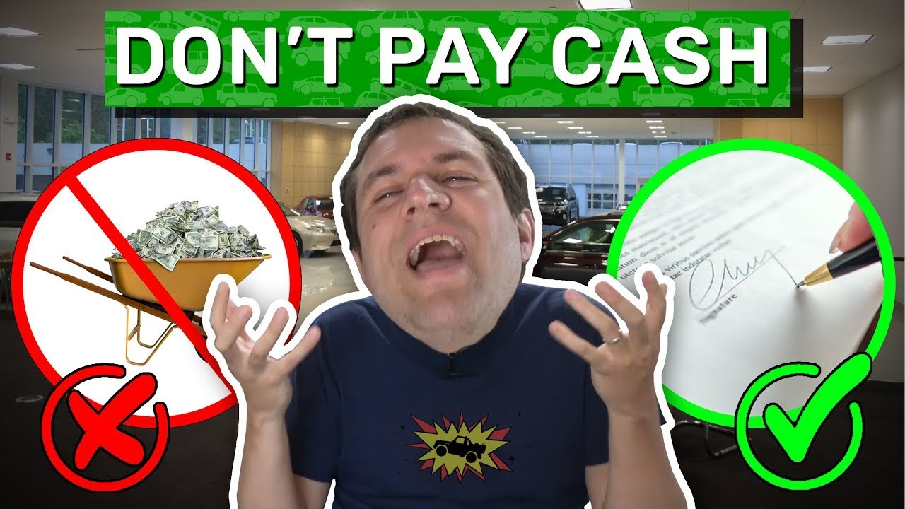 Why You Should Finance Your Car (And Not Pay Cash)