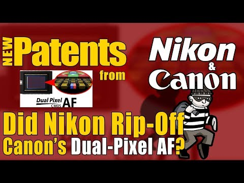 📷 Did Nikon Ripped Off Canon's Dual Pixel AF For Their Full-Frame Mirrorless Camera? New US Patents