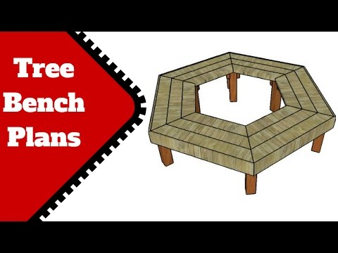 Tree Bench Plans