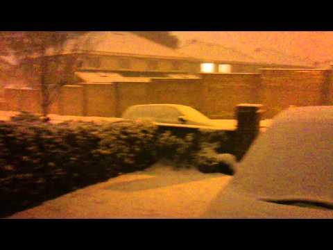 Snow Beaumont, Dublin, Ireland
