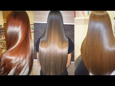 How to get Extreme Glossy Hair || Straight Silky and Smooth Hair