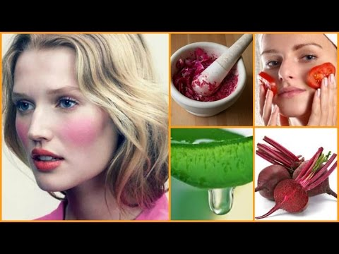 Get Rosy/Pink Cheeks Naturally Fast !!