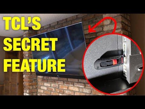 TCL SECRET FEATURE - 90min LIVE TV PAUSE - TCL 55C803 & 55C807