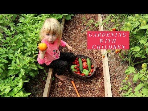 GARDENING WITH CHILDREN: QUICK TIPS