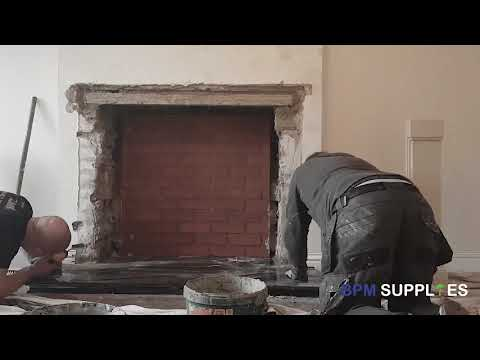 Marseillas Fireplace and Red Brick Chamber Installation
