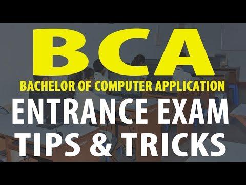 How to prepare and crack BCA Entrance Exam?