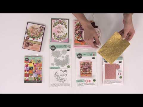 Sizzix Bloom & Blossom Card Kit Featured on HSN