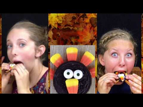 DIY quick and easy Fall turkey cookies snack