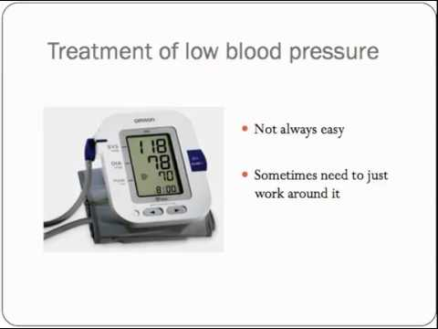 Orthostatic Low Blood Pressure
