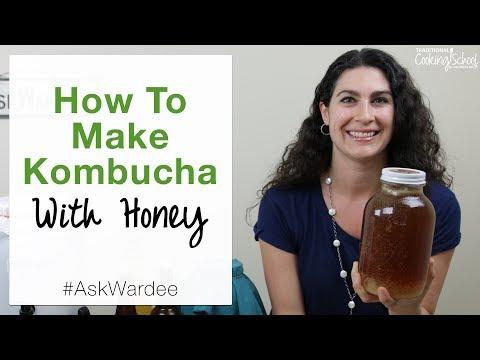 How To Make Kombucha With Honey | #AskWardee 085