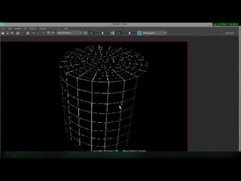 Maya 2016 wire-frame rendering with 2 different techniques
