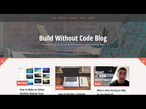 How to Make a Video Blog Website From Scratch w/ Wordpress
