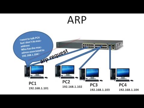 CCNA Topics – Layer 2 Switching and ARP
