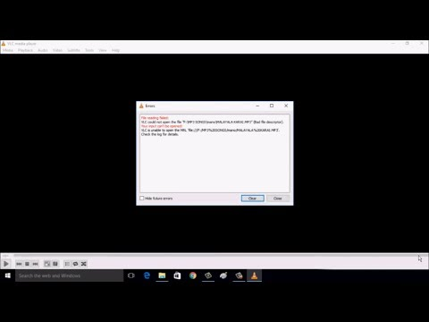 How to Fix File Reading Failed Error of VLC in Windows 10
