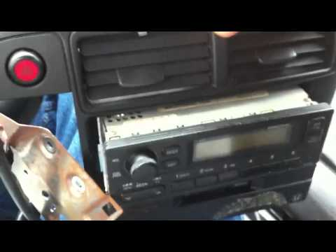 Honda Civic Stereo Replacement