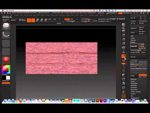 How to create a Vector Displacement map Zbrush Tutorial