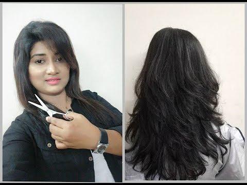 Advance Hair Cut Tutorial// Step Layer Hair Cut By Shilpi Bhowmik