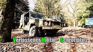 LOST PLACE - VERLASSENER MILITÄR - SCHROTTPLATZ #001