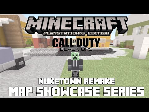 PS3/PS4 Minecraft Map Showcase: Episode 85 Call of Duty Black Ops Nuketown