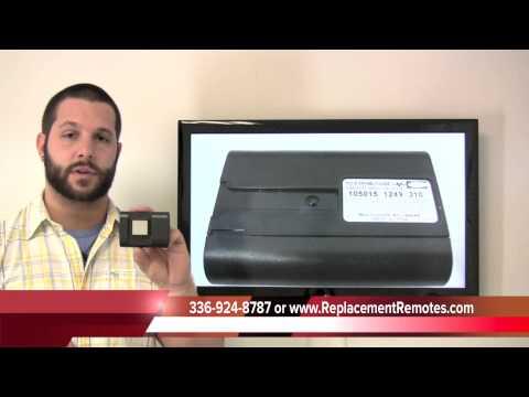 Stanley 1050 garage door opener - www.ReplacementRemotes.com