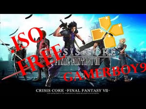 CRISIS CORE : final fantasy 7 { PPSSPP } [ 2017 WORKING ] FREEE~!!!!!! ON ANY ANDROID DEVICE !!!!