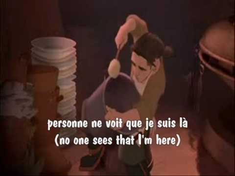 I'm Still Here (Canadian French) w/ subs & translation