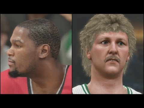 NBA 2k14 MyTEAM Xbox One Gameplay - Diamond Durant Shuts Down Larry Bird