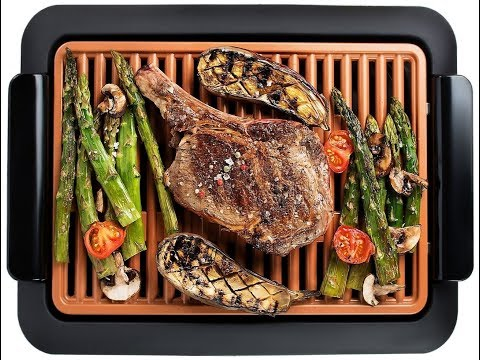 Review:  GOTHAM STEEL Smokeless Electric Grill, Portable and Nonstick As Seen On TV