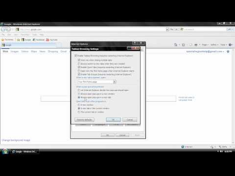 How To Open Links In The Same Browser Window Internet Explorer