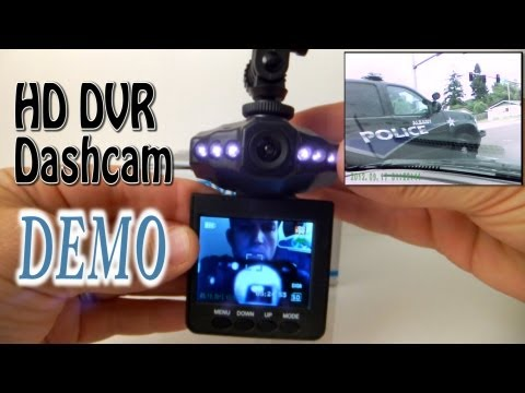 HD Infrared Dash Cam DVR with 2.5