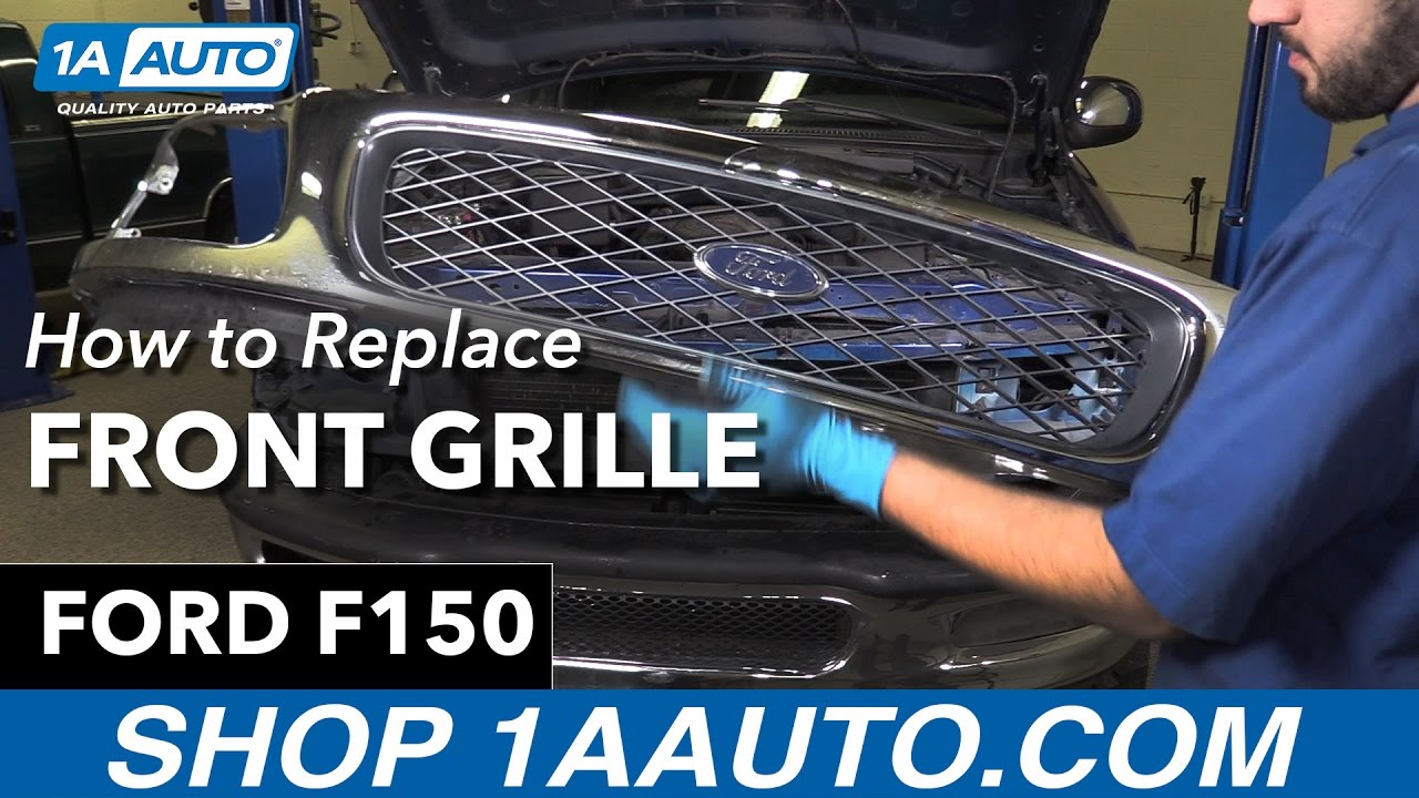 How To Replace Front Grille 97-04 Ford F150