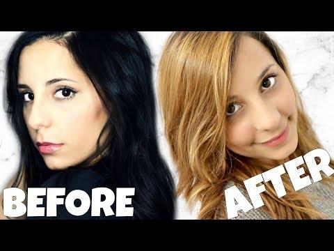 DIY Lighten Dark Hair WITHOUT Added Bleach at Home!! Part 3