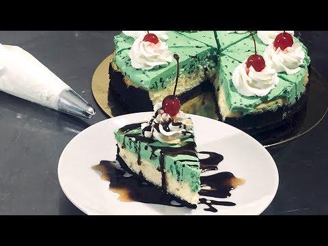 Shamrock Shake Cheesecake   GeekChef Standmixer